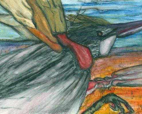 L'oiseau-etrangle
